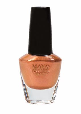 "MAYA Nail Lacquer (Pretty Penny). Breathable, Made in the USA, and ""9-FREE""!"