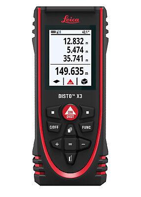 Der neue Leica DISTO™  X3 Entfernungslaser mit Bluetooth® Datenübertragung