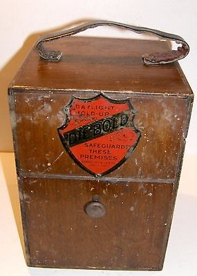 DIEBOLD Salesmans Sample TIMELOCK combination safe vault lock 1933 locksmith