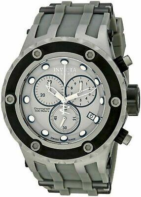 Invicta 17218 Men's Subaqua Reserve Swiss Chronograph Grey Rubber Watch 500m