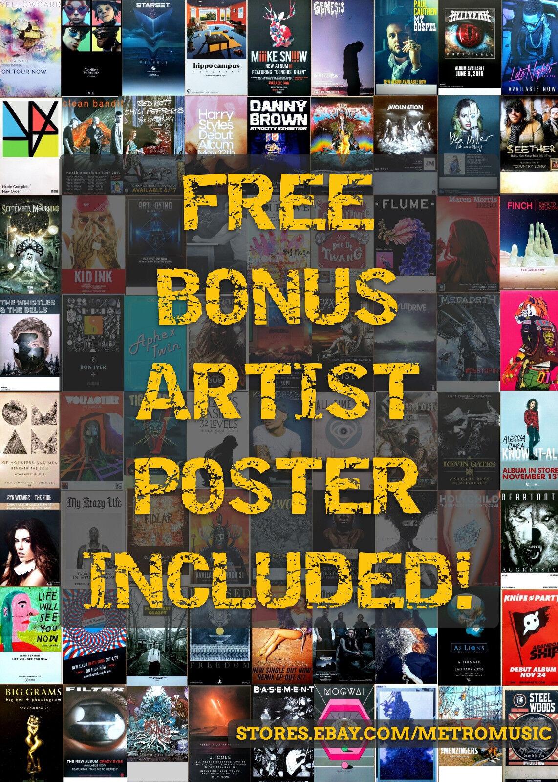 Kevin gates islah ltd ed discontinued new rare poster +free hip-hop rap poster!