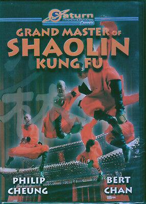 Grand Master Of Shaolin Kung Fu DVD New