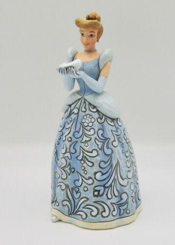 Walt Disney Showcase traditions Jim Shore Cinderella Dreaming for a Prince + box