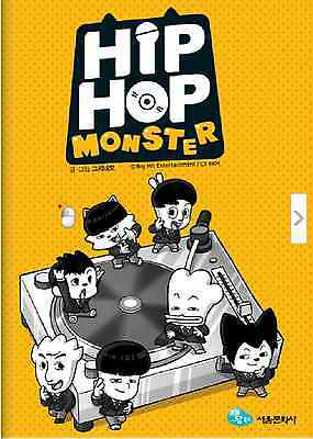 Bangtan Boys Bts Hiphop Monster Naver Webtoon Comic Book Sealed Kpop Korea Pop