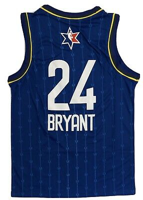 2019 NBA All Star Game Kobe Bryant Team Lebron Jersey #24 Custom Size Large