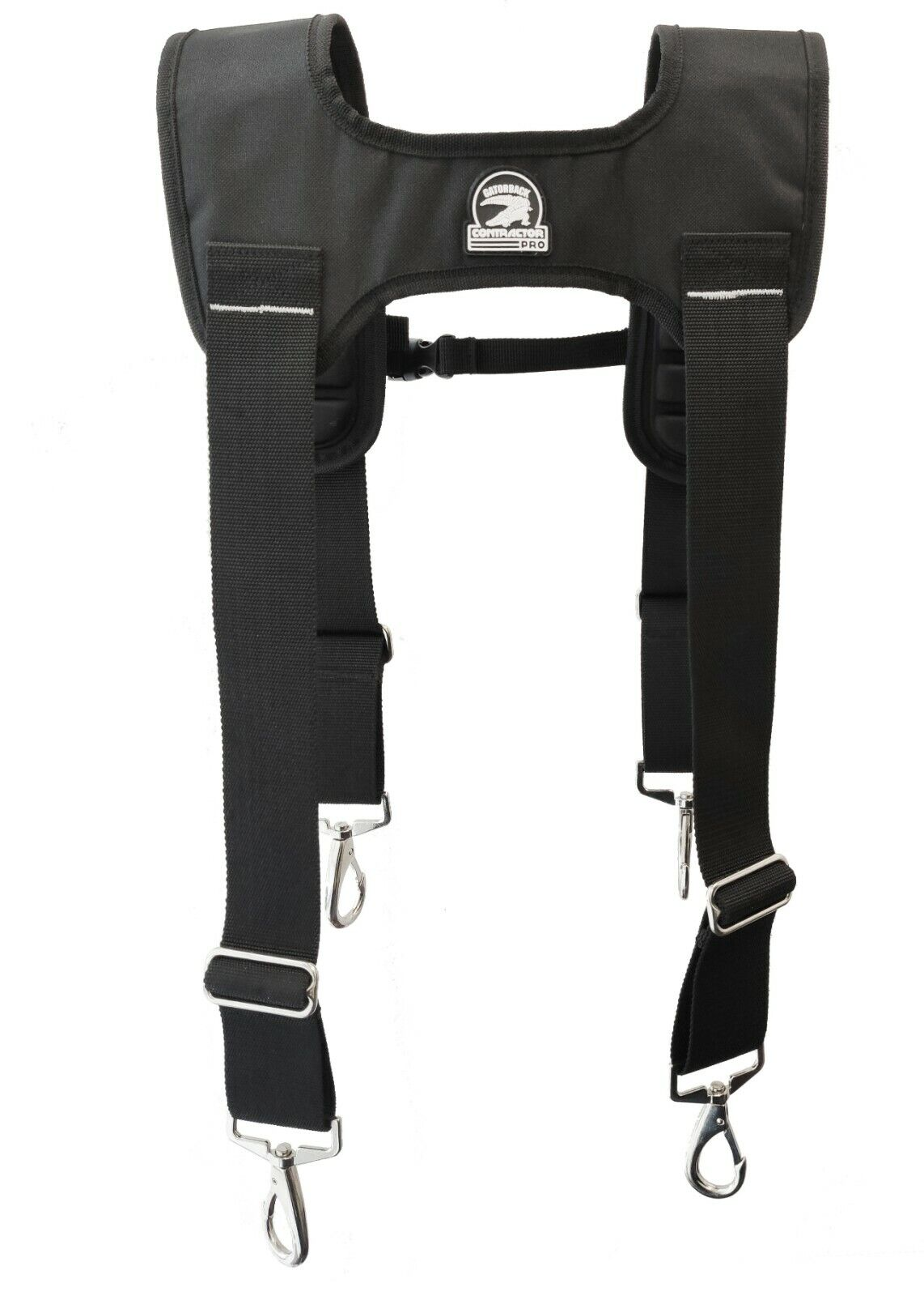 Gatorback B616 Deluxe Suspenders for Tool Belts. Molded Air-