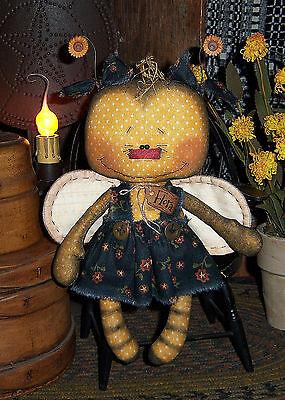 Primitive Patti's Ratties Raggedy Ann Bee Garden Doll Paper Pattern #649