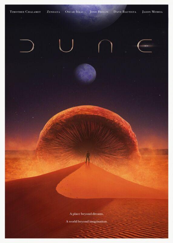 DUNE movie poster (Denis Villeneuve,2021)