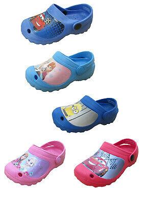 Disney Kinder EVA Clogs Hausschuhe Frozen Cars Minions - Minions Disney