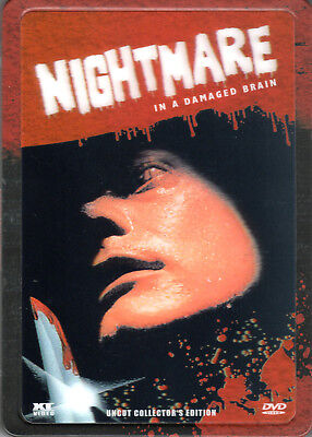 Nightmare in a damaged Brain , 2 Disc , 3D-Holocover-Ultrasteelbook , 100% uncut (Halloween 2 1981 Uncut Dvd)