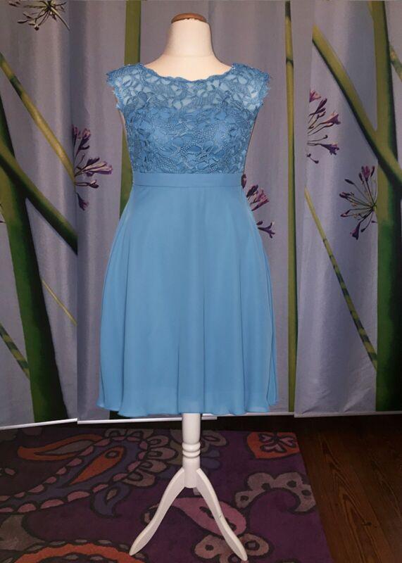 89# Abend Kleid mit Spitze mit tollem Rückenausschnitt ...
