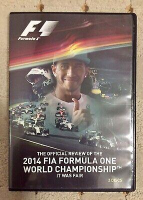 2 DVD Set - F1 2014 FIA Formula One World Championship Official review - Region2 for sale  United Kingdom