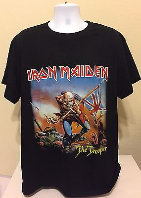 New   Iron Maiden Band T Shirt  The Trooper  High Quality   Best Deal On Ebay