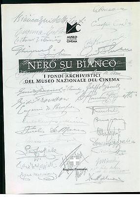 CERESA CAMPAGNONI NERO SU BIANCO MUSEO NAZIONALE CINEMA LINDAU 1997 CINEMA