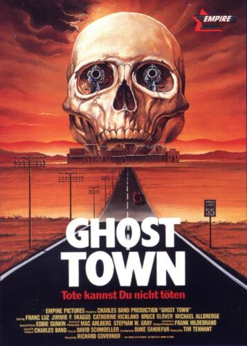 Ghost Town Movie POSTER (1988) Action/Horror