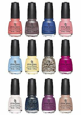 China Glaze Nail Polish Lacquer  You Choose   B2g1 Free    Add All 3 To Cart