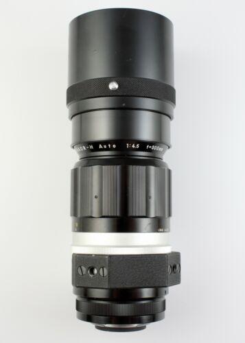 Nikon Nikkor-H 300mm f/4.5 Telephoto Lens Nikon F Mount As-Is