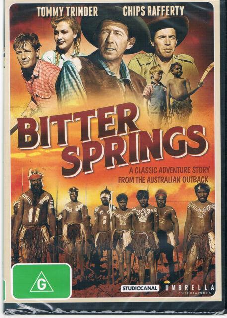 BITTER SPRINGS  DVD -     AUSTRALIAN MOVIE REGION  4 NEW AND SEALED