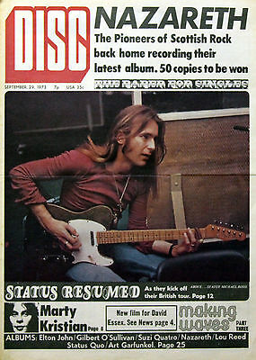 Status Quo Vintage Magazine & Covers Collection Rossi Parfitt