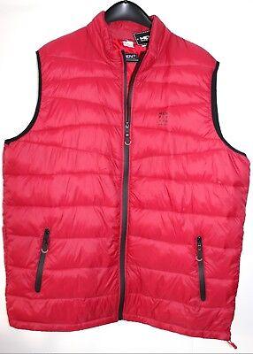 Steppweste Jersey marine-rot Gr XL Funsport Bekleidung & Schutzausrüstung