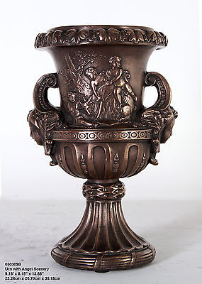Urn with Angel Scenery