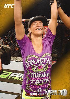 Miesha Tate Ufc 2015 Topps Knockout Gold 10X14 Card  44  1 1 Jumbo Wall Art 196