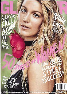 Glamour Magazine Blake Lively Fall Fashion Style And Success Skincare Tips (Blake Lively Style)
