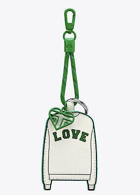 TORY BURCH LOVE Letterman Crew FOB Ivory Leather - tennis -TB Sport gift bag (Tory Burch Tennis)