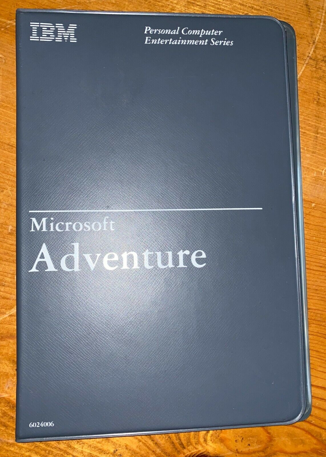 "Computer Games - Rare Microsoft IBM Adventure PC and Compatibles Computer Game 5.25"" Floppy Disk"