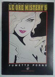 LE ORE MISTERY n° 5 (International Press, 1993) X ADULTI - Italia - L'oggetto può essere restituito - Italia