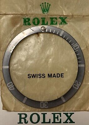 Vintage Rolex Submariner MK3 FAT FONT Insert Chost 5512-13,5508 & 1680 Genuine
