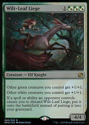 Leaf Liege (Wilt-Leaf Liege FOIL | NM | Modern Masters 2015 | Magic MTG)