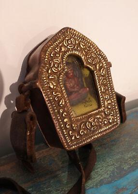 tibetan box ghau altare Nepal shrine -Ksitigarbha portable altar autel