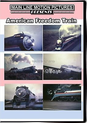 AMERICAN FREEDOM TRAIN MAIN LINE MOTION PICTURES NEW DVD VIDEO