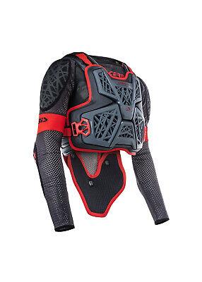 New Acerbis Galaxy JACKET Pressure Suit Body Armour S/M L/XL XXL Red Black