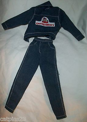 BARBIE DOLL CHUCK E CHEESE JACKET Denim JEANS Pants Lot Clothing Outfit - Chucks Outfits