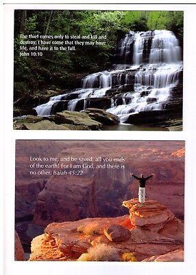 2X Postcards: Free Salvation Texts