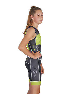 Kids / Junior / Children's Team Tri Suit by Dolphin Kick Ages (Kids Tri Suits)