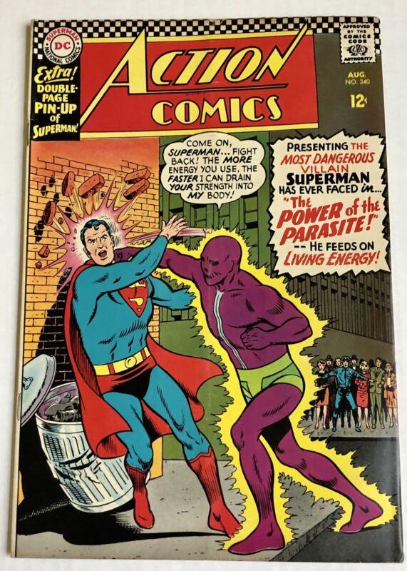 Action Comics #340 (1st Apperance Parasite) - Mid Grade
