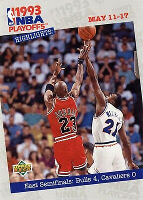 1993-94 Upper Deck #187 Michael Jordan Chicago Bulls HOF
