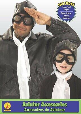 Rubies Aviator Brille Hut Erwachsene Kinder Halloween Kostüm - Kinder Aviator Kostüm