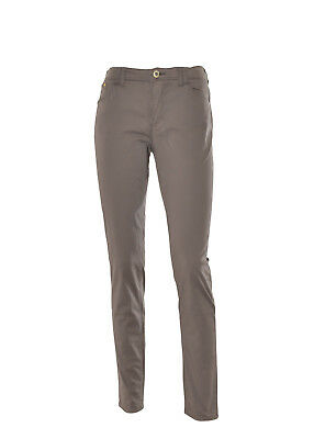 ARMANI JEANS Pantaloni donna logo in metallo in PROMOZIONE