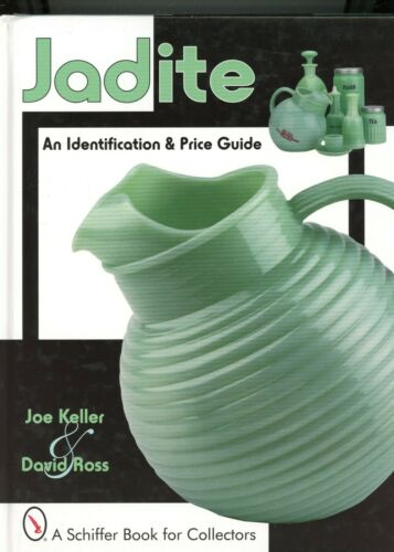 Jadite Glass Identification - Anchor Hocking McKee Jeanette Etc. / Book + Values