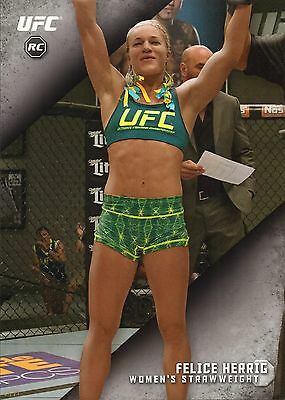 Felice Herrig Ufc 2015 Topps Knockout Rookie 10X14 Card 2 Rc 1 49 Jumbo Wall Art