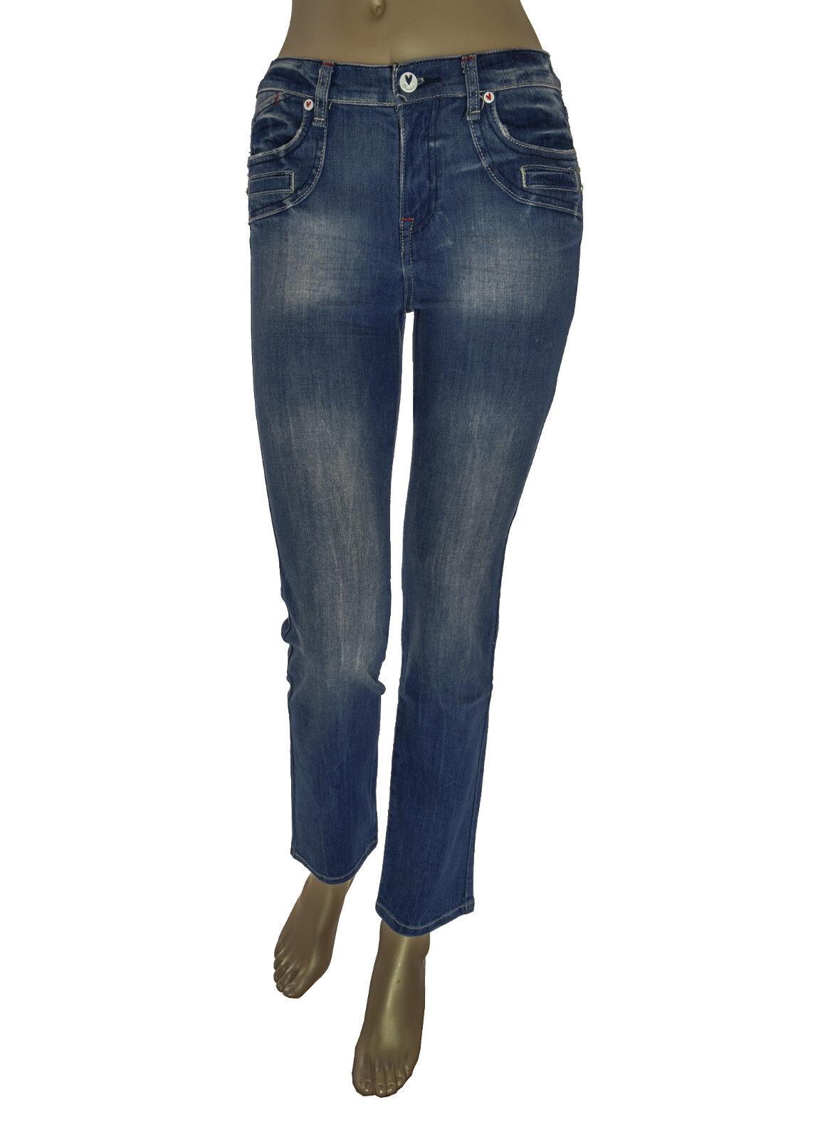 FIORUCCI Jeans ragazza/donna - dettagli sulle tasche con strass e logo