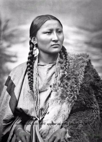 War Chief Pretty Nose PHOTO Female at Battle of Little Bighorn Indian 1879