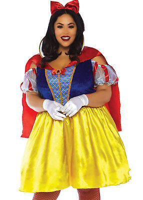 Plus Size Snow White (NEW LEG AVENUE Plus Size 2PC