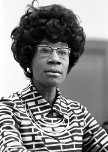 Shirley Chisholm-American Politician, Educator and Author - 1972 Photo