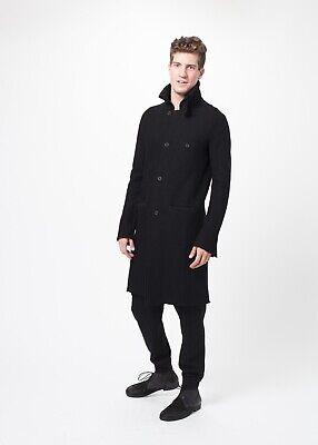 Hannes Roether Rumet Knit Coat - Men's L Black