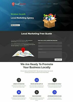 Local Marketing Services Provider Website - Business In A Box